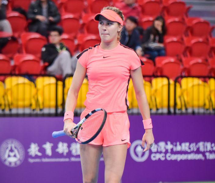 布夏有可能在台灣走更遠。WTA臺灣公開賽大會提供