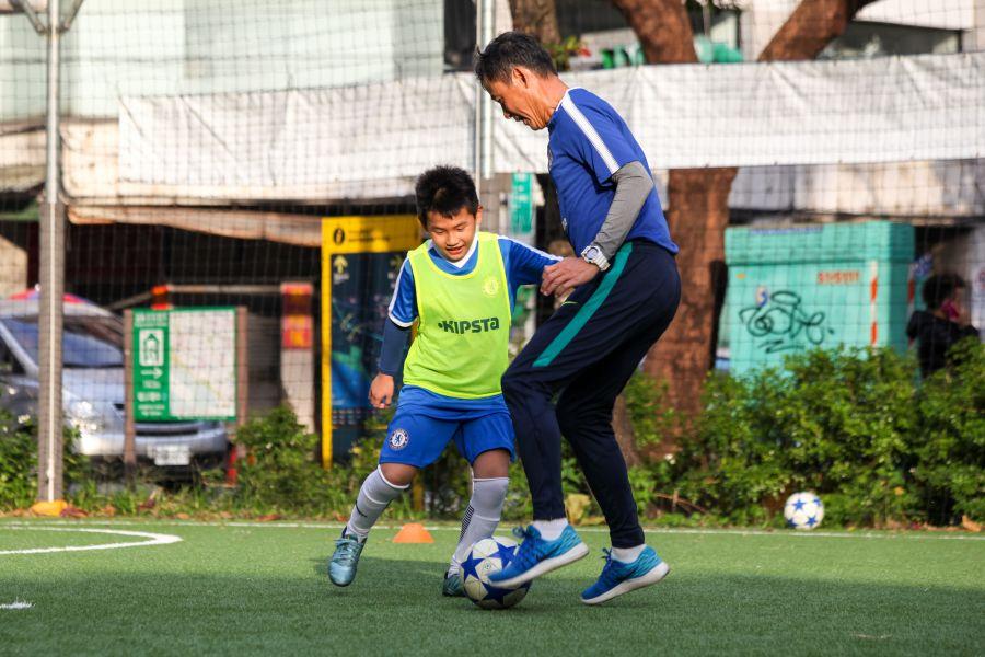 陳信安足球學校這次徵選1月18日前截止報名。圖/陳信安足球學校提供