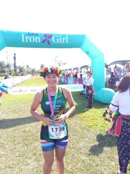 Liv Iron Girl第一名黃于嫣。圖/大會提供