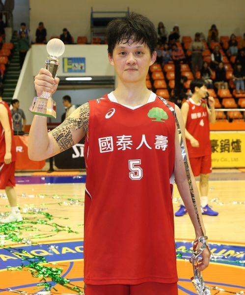 黃凡珊奪下冠軍賽MVP。李天助攝