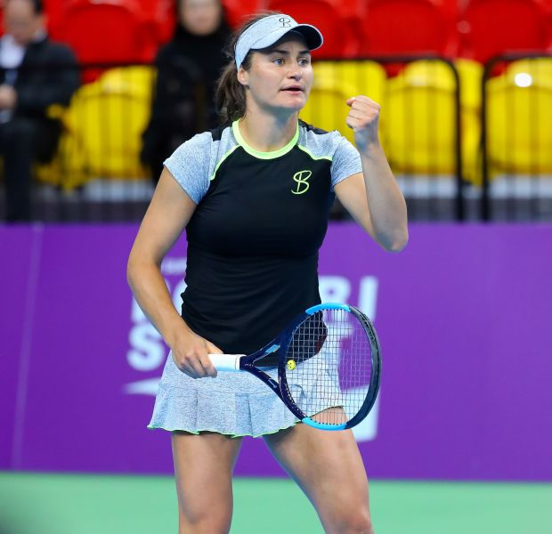 尼古列斯庫三盤晉8強。WTA臺灣公開賽大會提供
