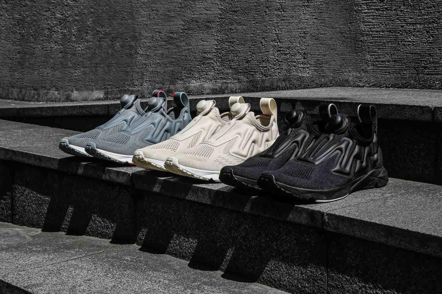 Pump Supreme推出三款全新配色,經典闇黑、極簡米白、個性深灰攻佔高端運動潮流地位。