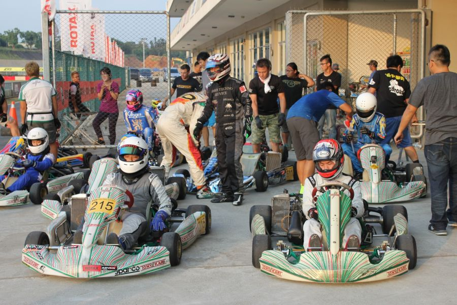 Rotax Max卡丁車賽24日於寶登場。麗寶提供