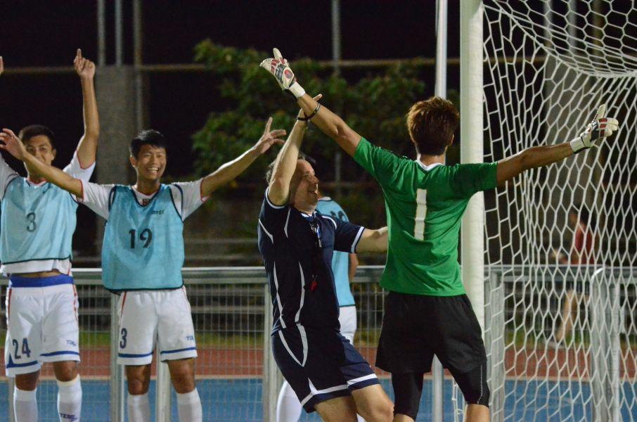 中華男足氣氛愈來愈活潑。中華民國足球協會提供
