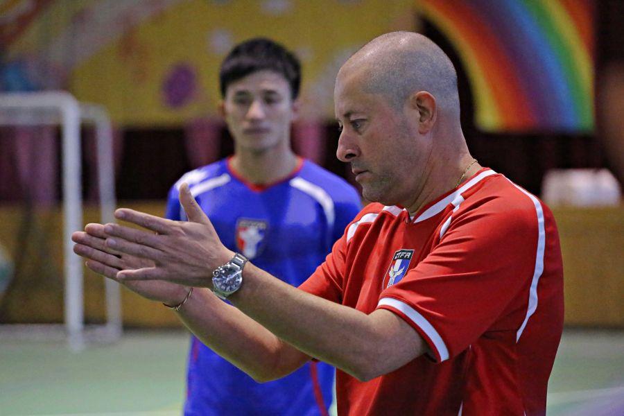 中華5人制足球總教練阿迪爾。中華民國足球協會提供
