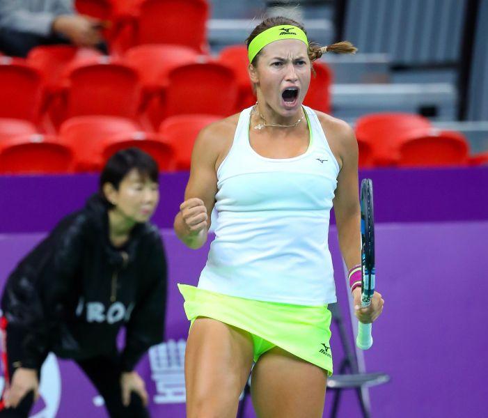 普丁塞瓦名列第5種子。WTA臺灣公開賽大會提供