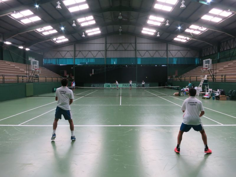 中華隊在積極備戰中。中華民國網球協會提供