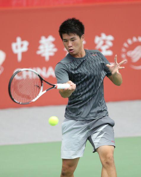 19歲小將駱建勛首度打進挑戰賽會內賽。
