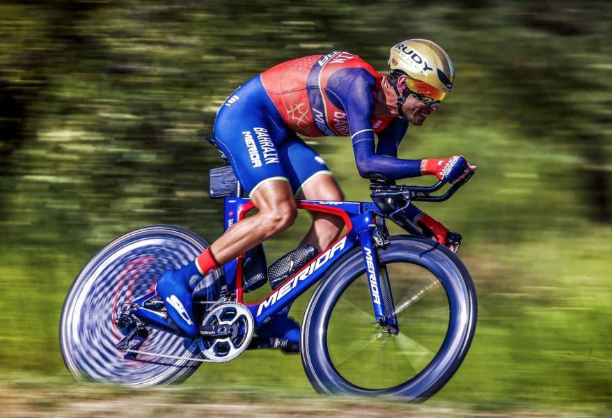巴林‧美利達隊〝鯊魚〞文森佐‧尼巴利(Vincenzo Nibali)將來台挑戰台灣登山王。巴林‧美利達一級職業車隊/提供。