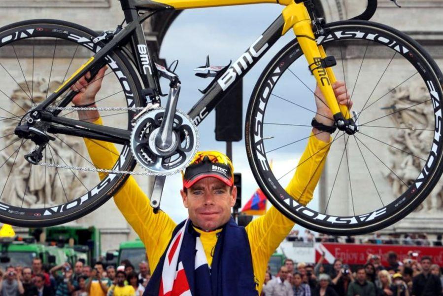 前環法和世錦賽冠軍澳洲〝冏爺〞卡德‧伊文斯(Cadel Evans)將挑戰台灣登山王。BMC車隊/提供。