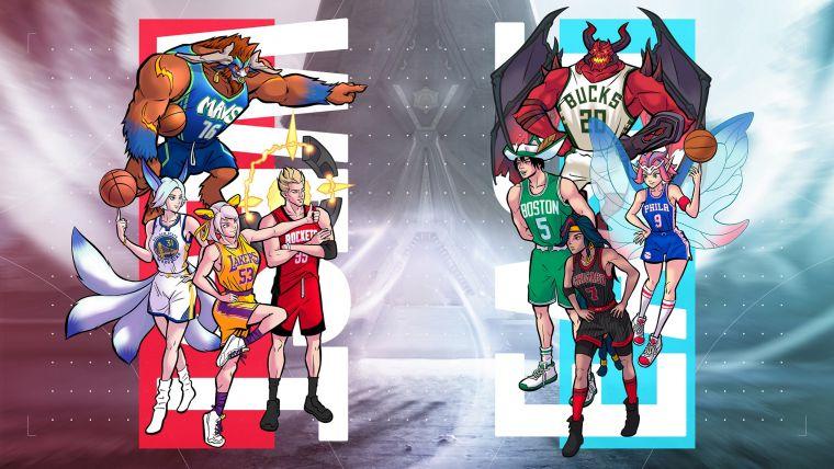 《NBA Store Taiwan》跨界聯名再一波,首度攜手人氣手遊《Garena傳說對決》推出聯名商品!官方提供