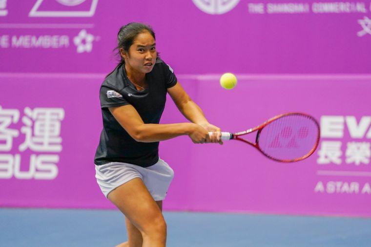 【圖九】2018年14歲組女單冠軍楊亞依,代表我國參加WTA未來之星賽事並勇奪冠軍。海碩整合行銷提供