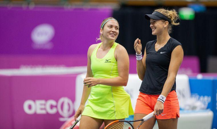 俄羅斯組合Natela Dzalamidze與Olga Doroshina挺進決賽。海碩整合行銷提供