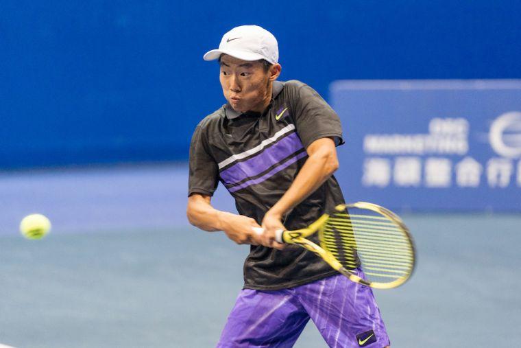 曾俊欣曾在2013年勇奪OPI盃12歲組男單冠軍。海碩整合行銷提供