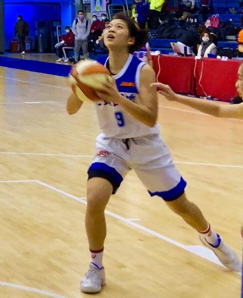 七賢國三前鋒陳郁庭2記三分球拿生涯最高20分。大會提供