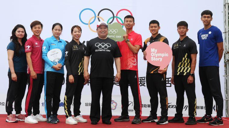 中華奧會林鴻道主席熱愛運動,認為可以集結更多資源,輔助績優運動員的生涯發展。奧會提供