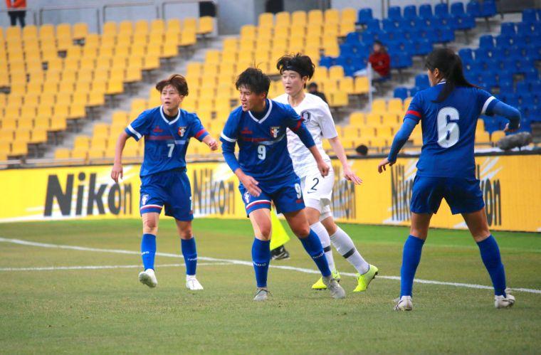 中華隊陳燕萍、李綉琴都是鋒線的要角。足協提供