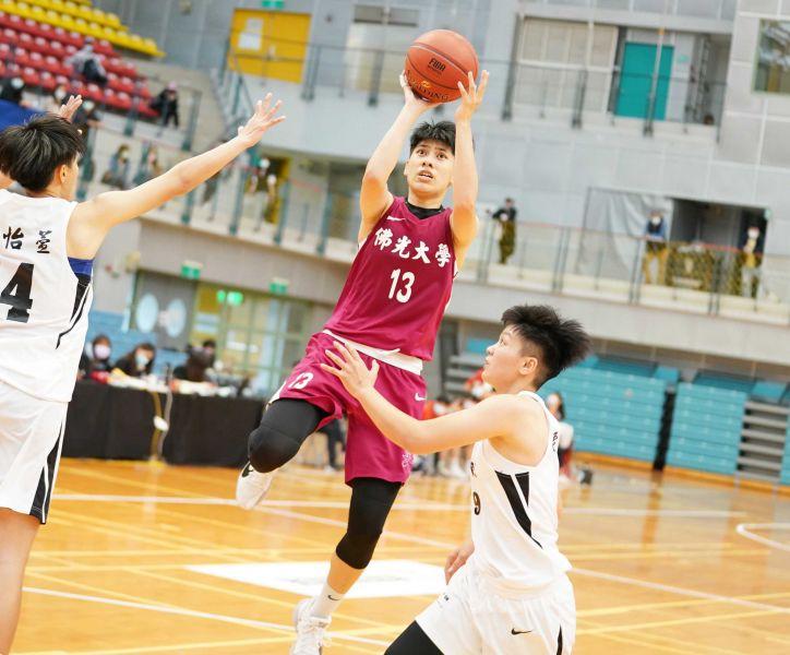 佛光王竫婷20分7籃板。大會提供
