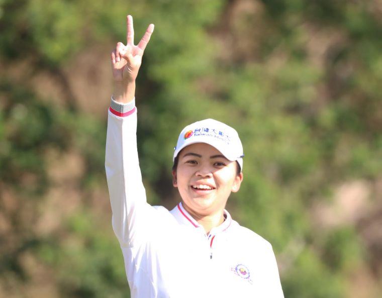 個人對抗賽隊長徐薇淩獲勝。鍾豐榮攝