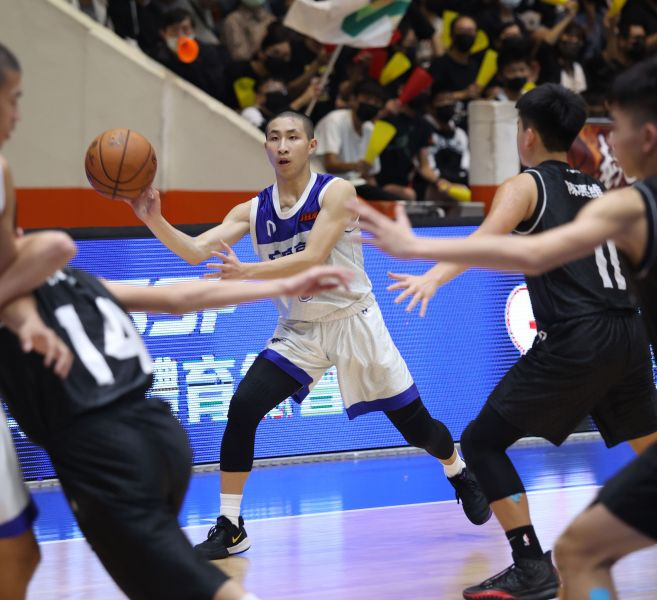 冠軍賽MVP安康王翊仲絕妙傳 球。大會提供