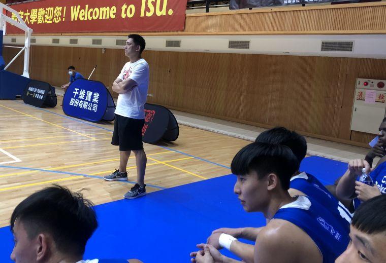 前中華男籃射手「神奇小子」羅興樑接任文化教練處女秀。大會提供