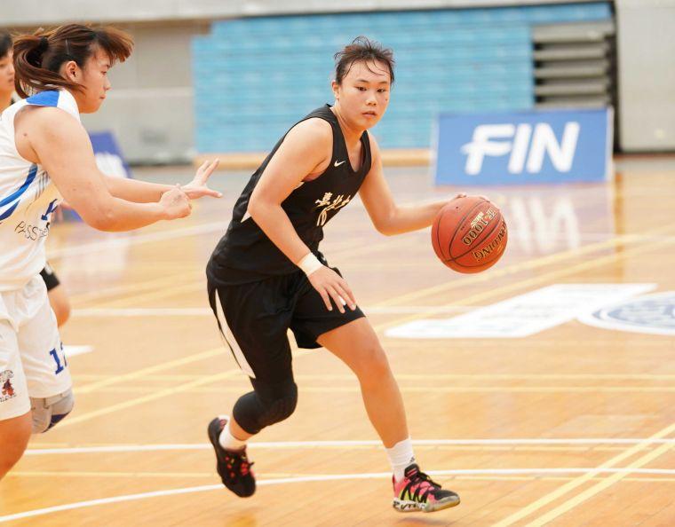 北大陳游芷瑄15分8籃板。大會提供