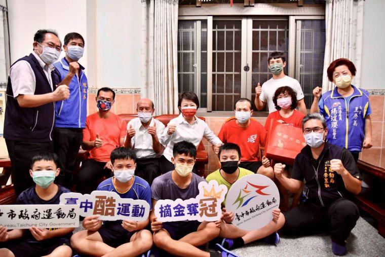 台中柔道國手李凱琳奪帕運第五名-盧市長讚-引以為榮。台中運動局提供