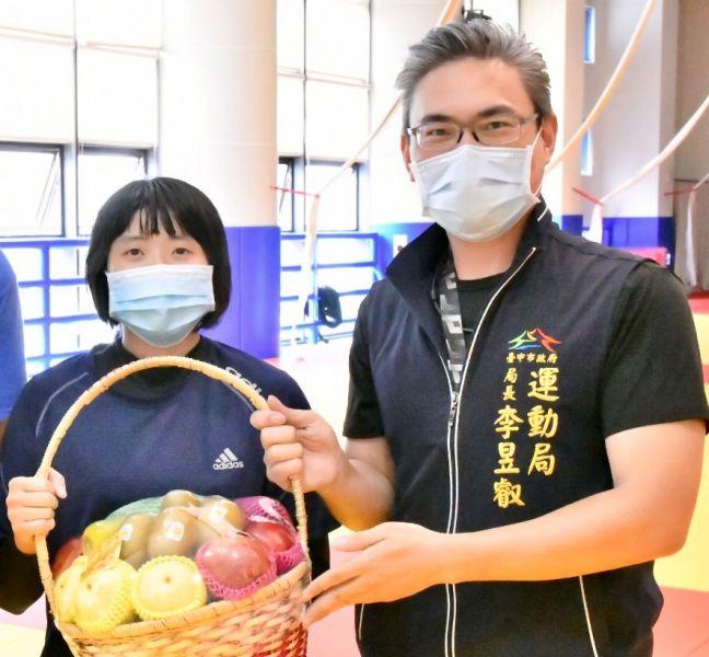 台中視障柔道女力李凱琳前進東京帕運-中市府預祝勇奪佳績。台中運動局提供