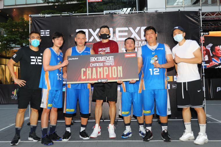 台北2派克3X3.EXE 2021首戰冠軍。官方提供