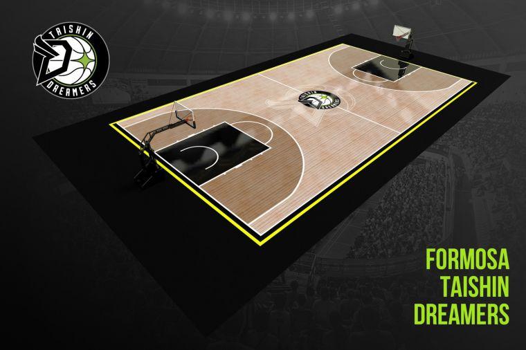 台新夢想家地板設計示意圖。台新夢想家提供
