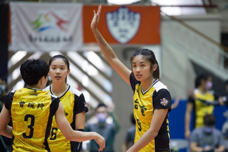台電女排 張秝芸。中華民國排球協會提供