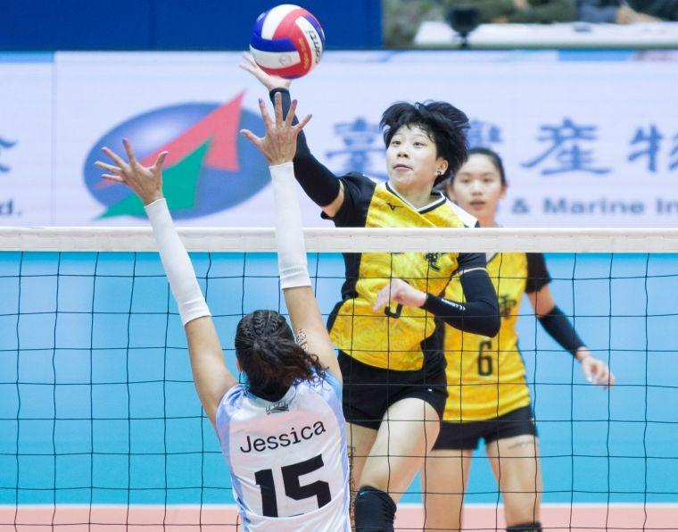 台電女排 曾琬羚。中華民國排球協會提供