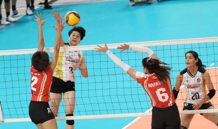 台電女排曾琬羚拿下全場最高24分。中華民國排球協會提供