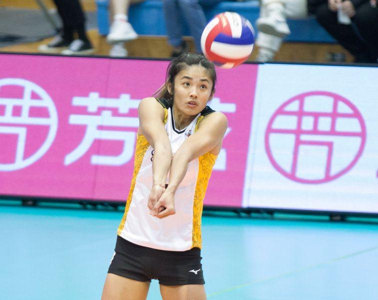台電女排-張秝芸。中華民國排球協會提供