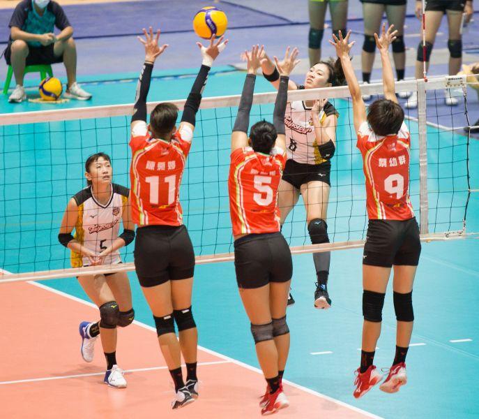 台電女排李姿瑩。中華民國排球協會提供