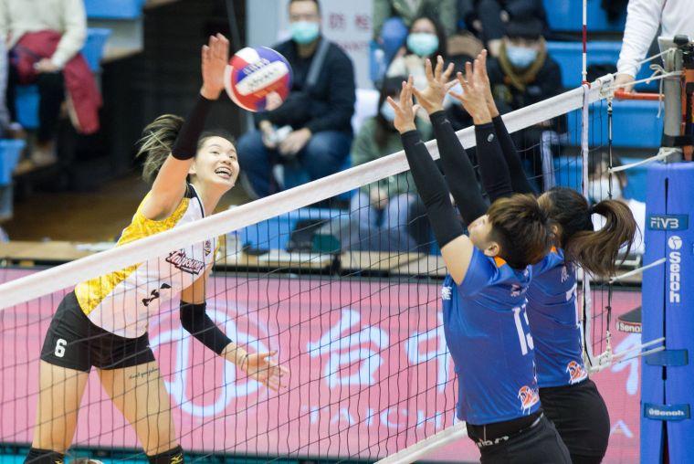 台電女排-陳姿雅。中華民國排球協會提供