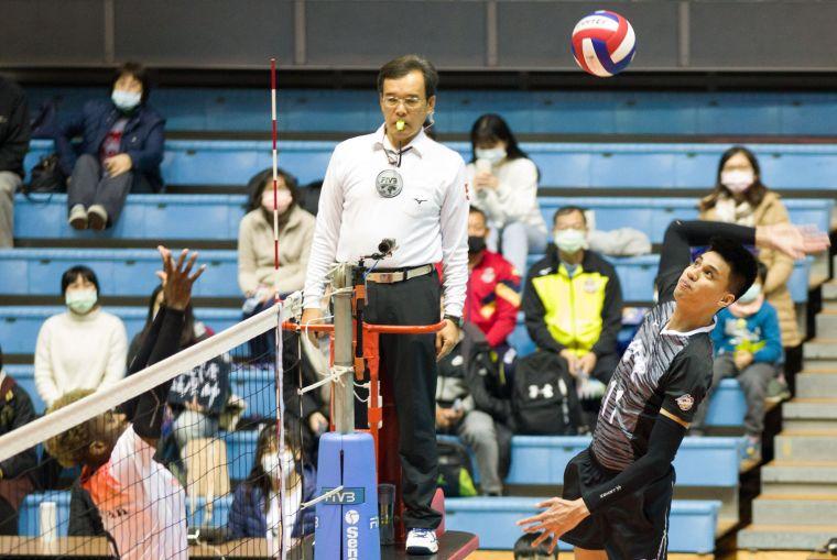 台電男排-李興國。中華民國排球協會提供