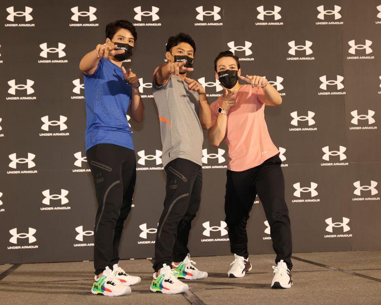 UA team的台灣東奧選手都準備將歸隊訓練。李天助攝