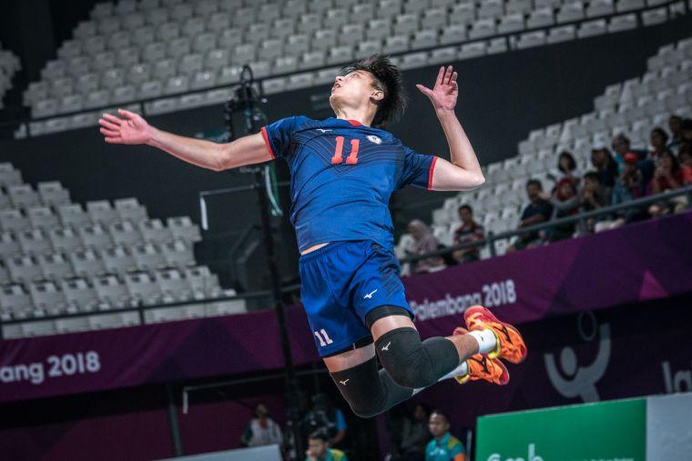 國家隊黃金左手吳宗軒,新賽季扛下太陽神左臂。VOL Sports提供