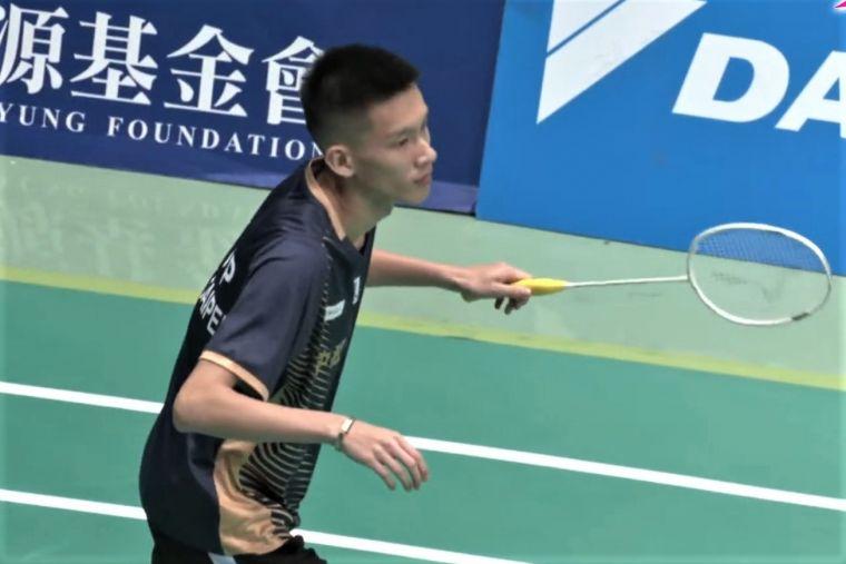 圖2.中租百齡胡佑齊本屆全團賽皆直落二對手取勝。大會提供
