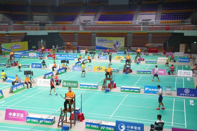二次排名賽會師屏東 千名好手齊聚開戰。中華民國羽球協會提供