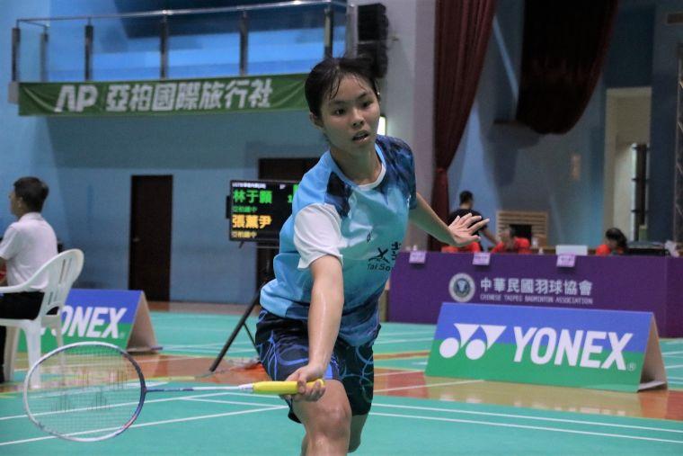 U17女單冠軍-亞柏雄中林于顥。羽協提供