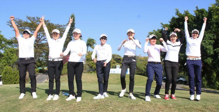 女子隊12比10以二分獲勝。鍾豐榮攝