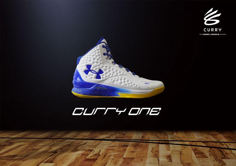 專業運動品牌UNDER ARMOUR復刻推出Stephen Curry個人初代簽名籃球鞋「Curry One DUB-NATION」經典配色。官方提供