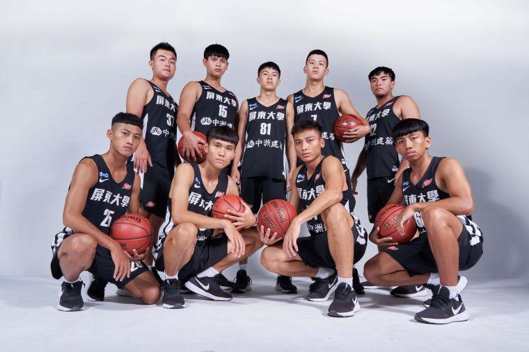 屏東大學男籃。大會提供
