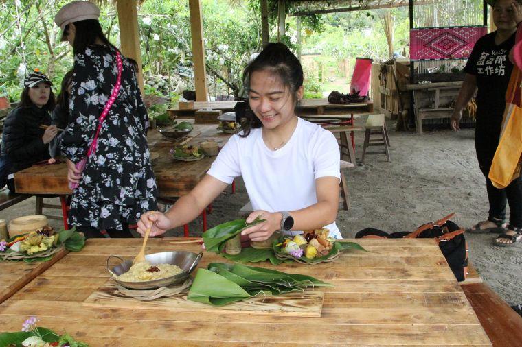 崁頂部落風味餐。官方提供