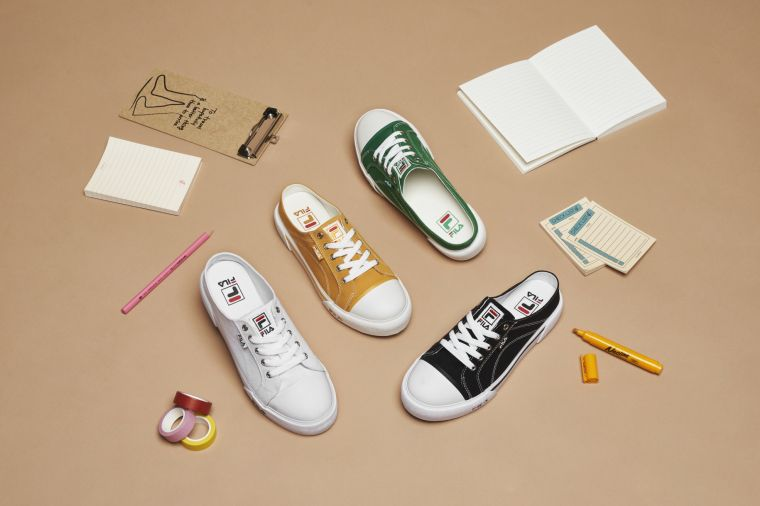 復古黃、潮流黑、青春綠、文青白等多色齊發,開學最IN潮鞋不煩惱。官方提供