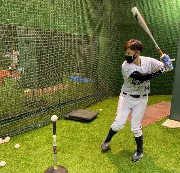 接棒未來女子棒球隊力佳穩扎穩打,盼能勇奪佳績。官方提供
