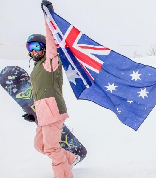 布萊特曾在冬奧獲得1金1銀。摘自布萊特IG