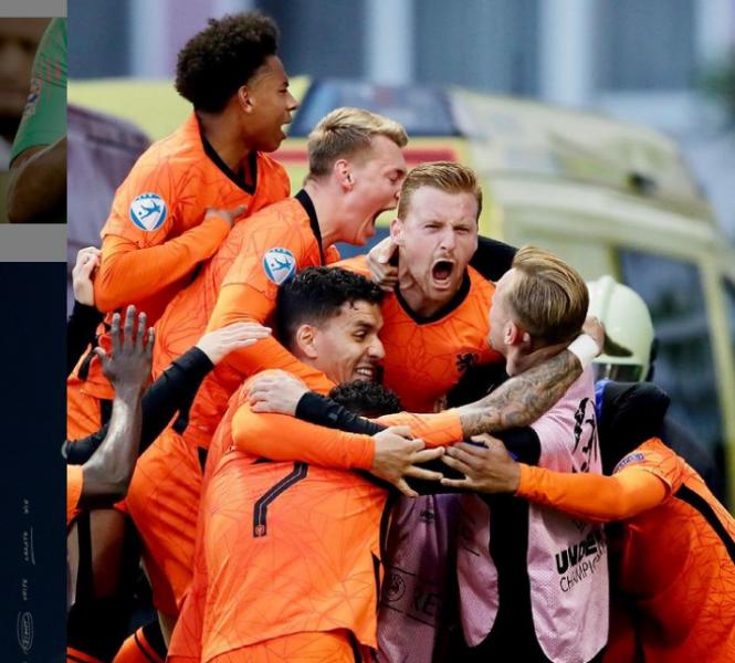 荷蘭陣中一向不划明星球員。摘自荷蘭國家隊IG